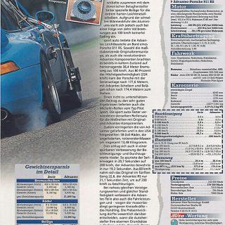 Sonderdruck Sport Auto 06/98 Seite 2