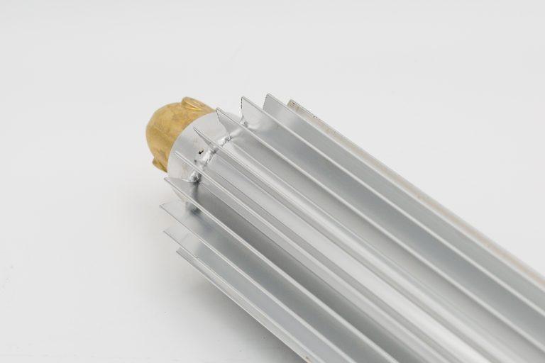 Detailansicht Zusatz-Ölkühler