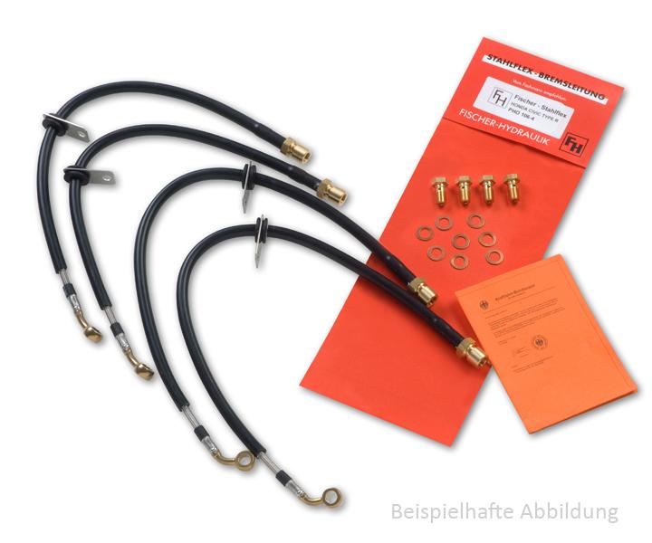 Produktbeispiel Stahlflex-Bremsleitungen
