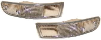 Blinkleuchtensatz Front glasklar 993