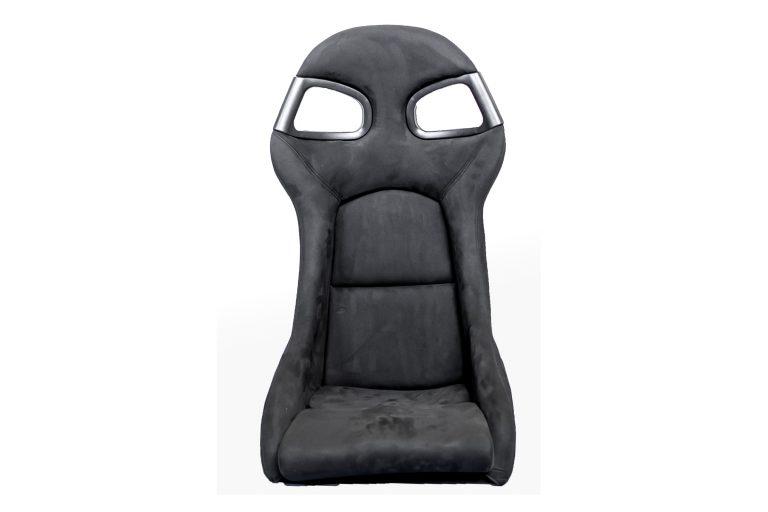 Frontansicht GT3-Style-Sitz / schwarze Naht