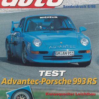 Sonderdruck Sport Auto 06/98 Cover