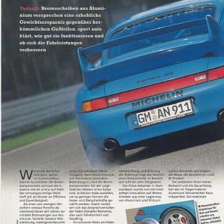Sonderdruck Sport Auto 06/98 Seite 1