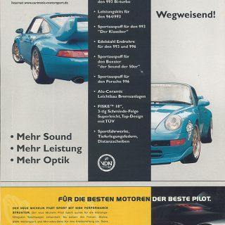 Sonderdruck Sport Auto 06/98 Seite 3