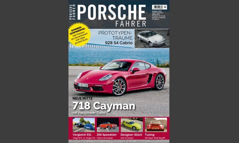Porsche Fahrer 4_2016 Cover