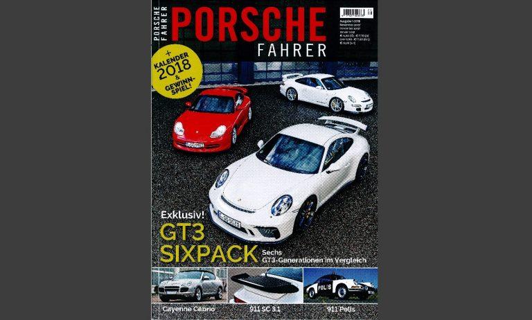 Porsche Fahrer Cover 1_2018