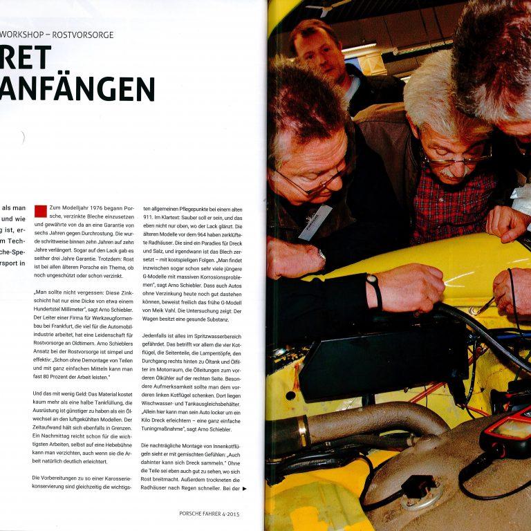 PorscheFahrer Workshop Rost 04/15
