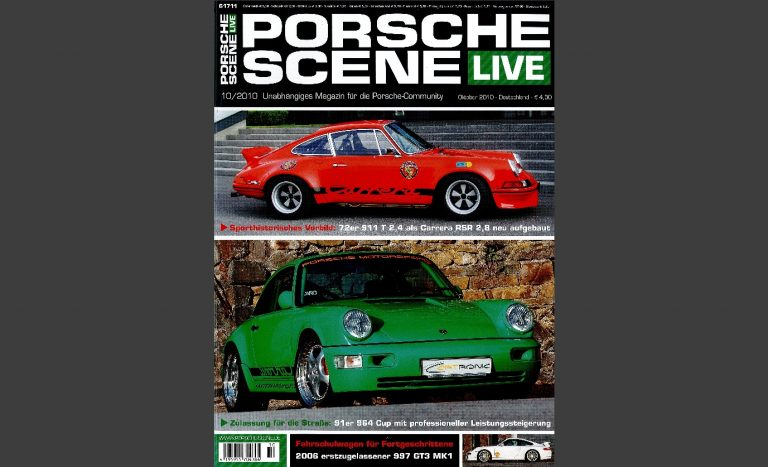 PorscheScene Cover 10_2010