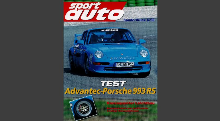 Sport Auto Sonderdruck Cover 06_98