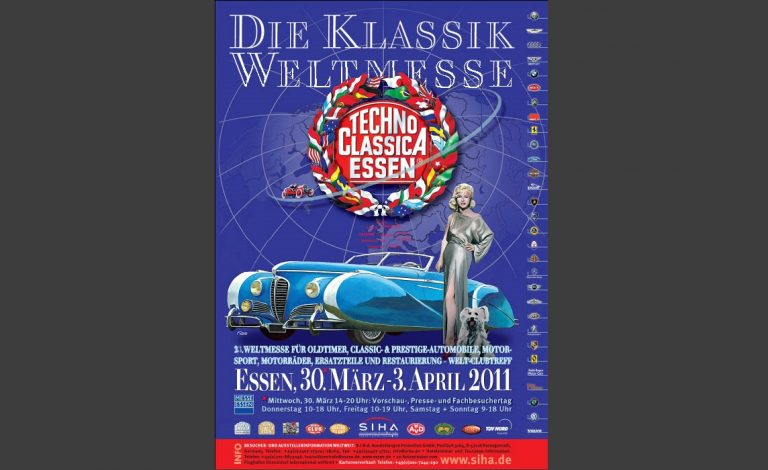 Techno Classica Plakat 2011