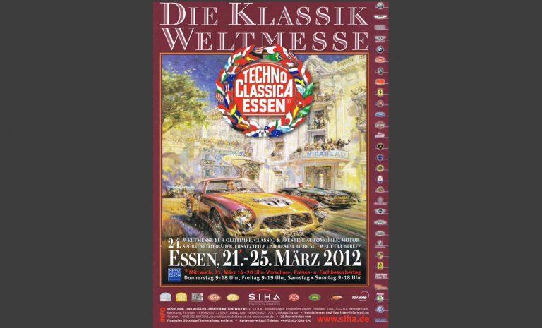 Techno Classica Plakat 2012