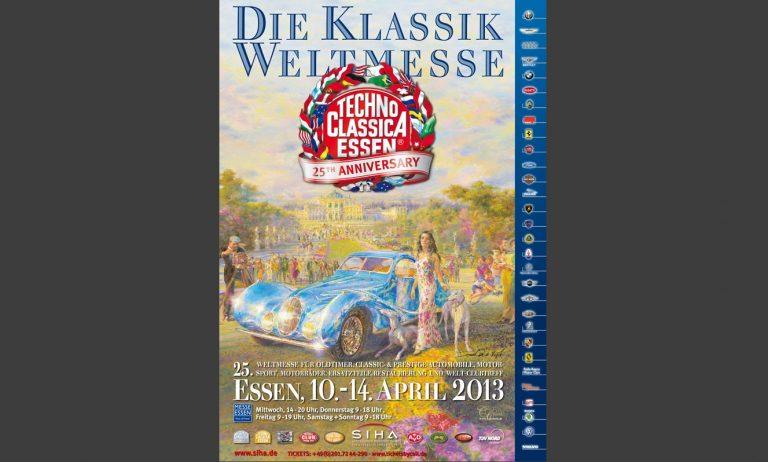 Techno Classica Plakat 2013