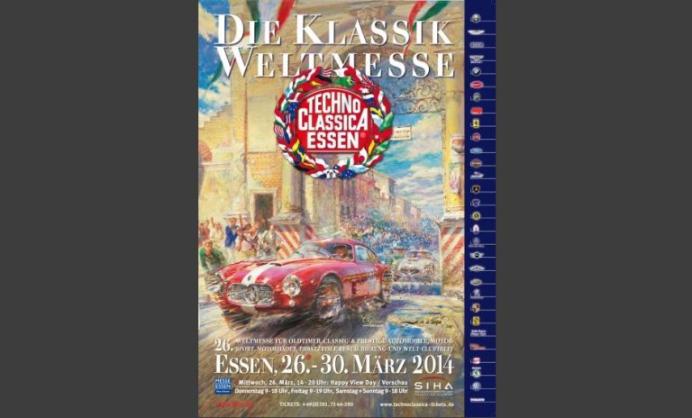 Techno Classica Plakat 2014