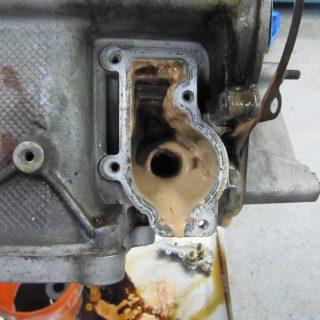 Motoröl im Kühlwasser