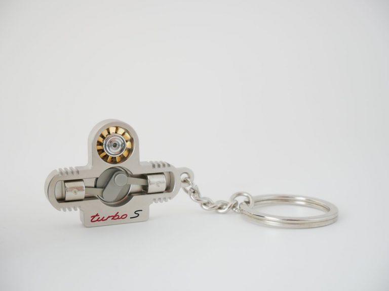 Schlüsselanhänger Turbo S