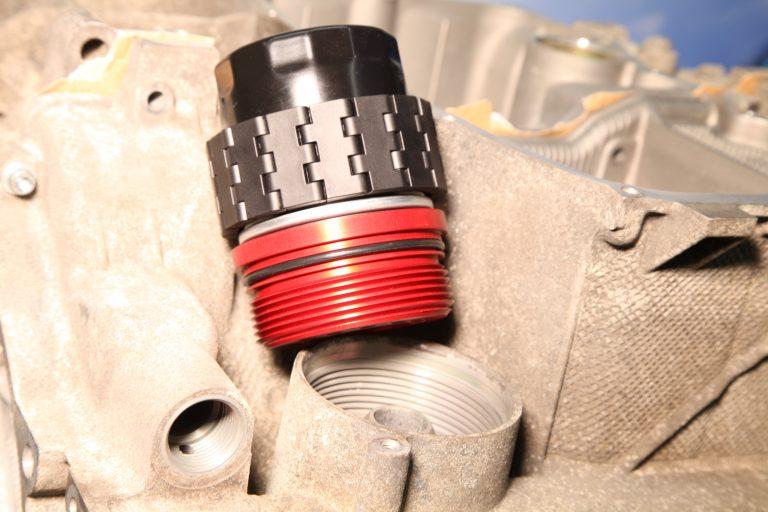 Einbaubeispiel Ölfilteradapter Kit